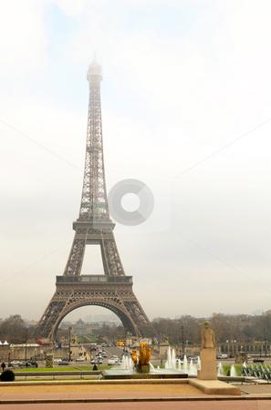 Paris #46 stock photo, The Eiffel Tower in Paris, France. by Sean Nel