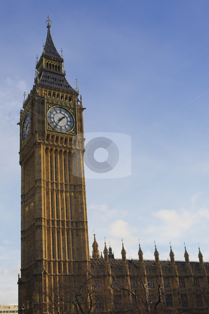 Big Ben #4 stock photo, Big Ben in the late afternoon by Sean Nel