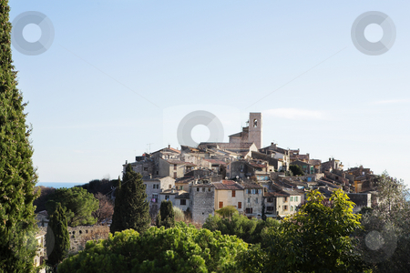St Paul #33 stock photo, The small hilltop town of St Paul,  France by Sean Nel