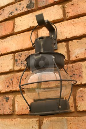 Candle lantern stock photo, Black candle lantern by Sean Nel
