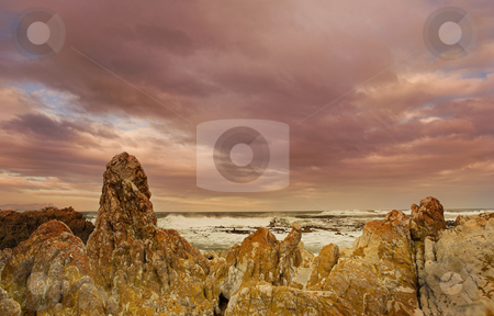 Ocean #1 stock photo, The storm is coming - Rocky Beach, Betty by Sean Nel