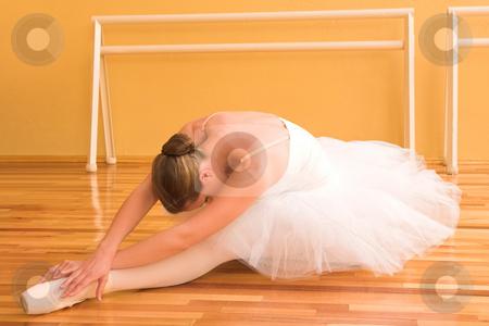 Ballerina #22 stock photo, Ballerina in a dance studio. by Sean Nel