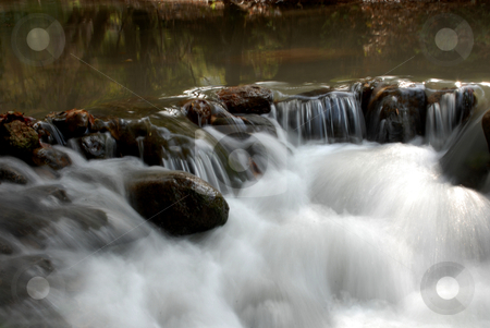 River stock photo, Pure water from a power river by Tony Abdou