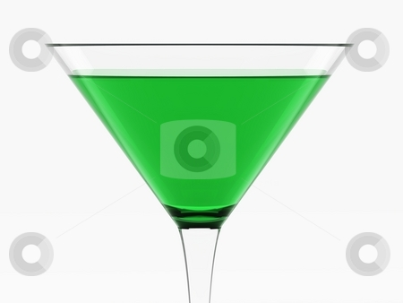 Green Cocktail stock photo, Green Cocktail by Oliver Klimek