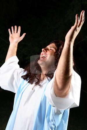 Spiritual worship stock photo, Spiritual worship by Leah-Anne Thompson