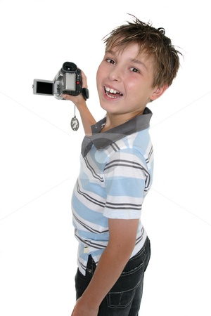 See my movie stock photo, Child showing some video capture on the playback screen by Leah-Anne Thompson