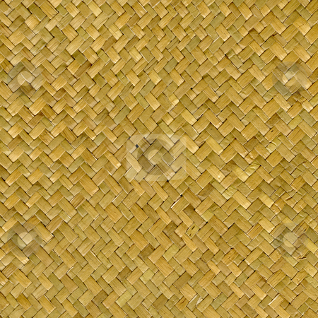 Wooden basket texture stock photo, Wooden basket weave texture background, closeup with abstract pattern by Marek Uliasz