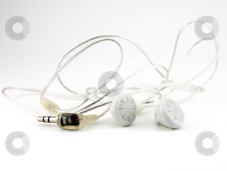 Headphones stock photo,  by Sergei Devyatkin