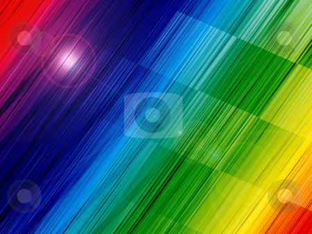 Abstract spectrum background stock photo, Abstract colorful spectrum background with lighting effects by Pavel Filippov