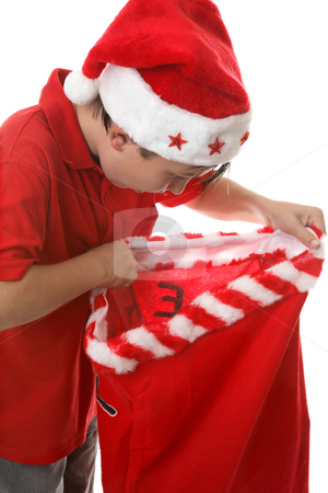 Santa's Gifts stock photo, What did Santa Claus leave me for Christmas. by Leah-Anne Thompson