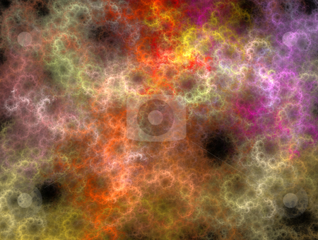 Abstract colour smoke background stock photo, Abstract  smoke swirls background with various colours by Jan Turcan
