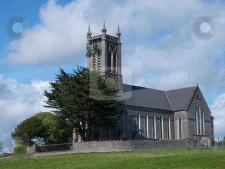 St. John's Church, Ballinasloe, County Galway, Ireland stock photo, Church of Ireland church in Ballinasloe, County Galway, Ireland by Michael O'Connell