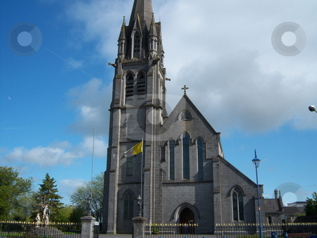 St. Michael's Church, Ballinasloe, County Galway, Ireland stock photo, The Roman Catholic Church in Ballinasloe, County Galway, Ireland by Michael O'Connell