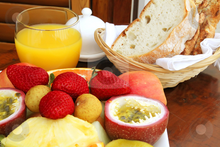 Hotel Breakfast stock photo, Hotel Breakfast by Kheng Ho Toh