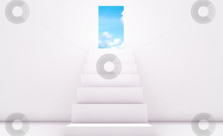 Personal Goals stock photo, Path to Your Goal or Target Concept in 3d by Kheng Ho Toh