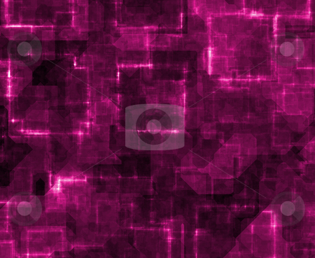 Information Highway Data Abstract stock photo, Information Highway Data Abstract in Pink Tones by Kheng Ho Toh