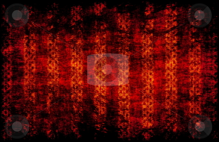 Grunge Background Pattern Art stock photo, Red Grunge Background Art Stripes as Pattern by Kheng Ho Toh