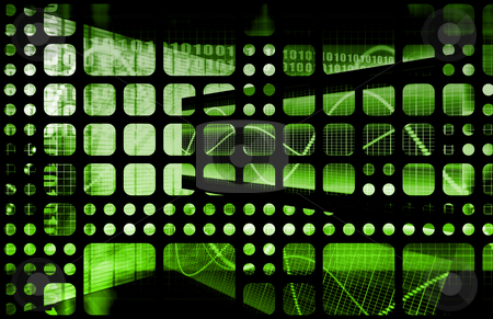 Technology Abstract stock photo, Business Abstract Technology as a Background Art by Kheng Ho Toh