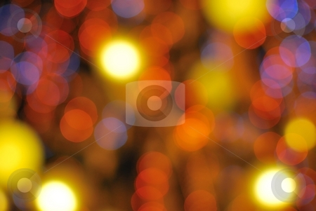 Christmas lights background stock photo, Colorful Christmas lights background. Suitable for abstract, winter seasons, christmas and holiday concepts. by Wai Chung Tang