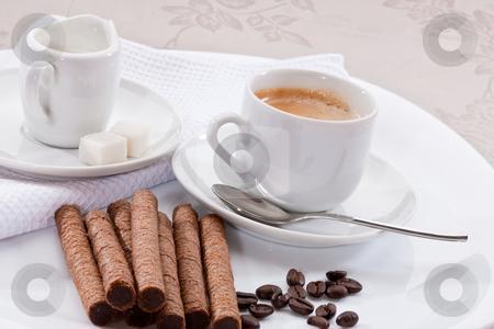 Morning coffee stock photo,  by Gennady Kravetsky