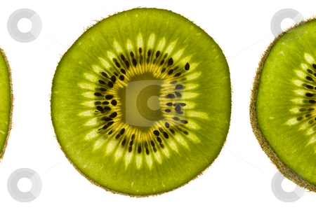 KIWI FRUIT stock photo, Food series: macro picture of sliced Kiwi Fruit by Gennady Kravetsky