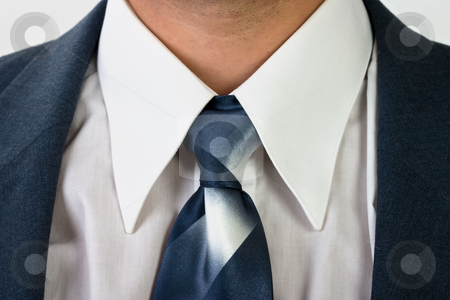 A man is in a suit stock photo, Detail of male clothes, man in the costume by Gennady Kravetsky
