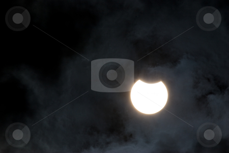 Solar eclipse stock photo, Nature series: solar eclipse in summer day by Gennady Kravetsky