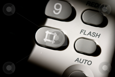 Phone stock photo, Macro of operator button on keypad of telephone by Gennady Kravetsky