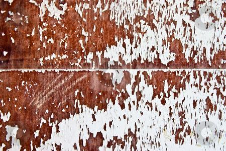 Veneer stock photo, Texture series: old styled white painted veneer by Gennady Kravetsky