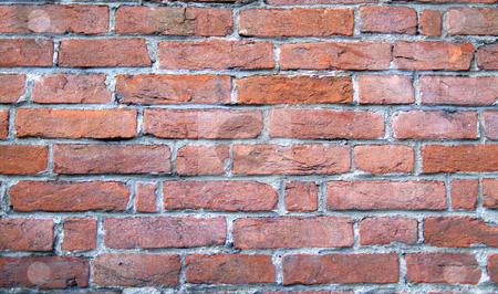 Brick wall stock photo, Closeup of a texture of a brick wall by Fabio Alcini