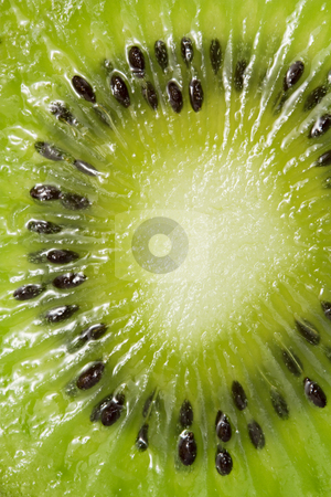 Abstract photo of a kiwi stock photo, Abstract photo of a kiwi by Ivaylo Ivanov