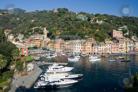 Portofino, Italy stock photo,  by ANTONIO SCARPI