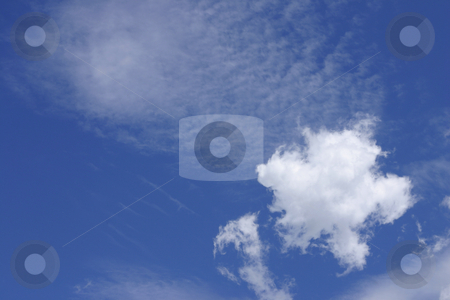 White Puffy Cloud stock photo, White puffy cloud by Leah-Anne Thompson