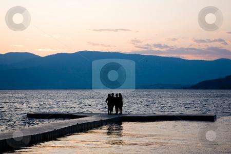 Sunset at Lake Chelan stock photo, Sunset at Lake Chelan in Eastern Washington. by Travis Manley