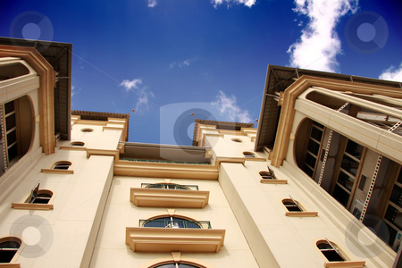 Modern building stock photo, Modern building in the capital city of Port-Louis,in Mauriitus. by Gowtum Bachoo