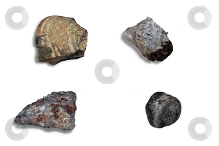 Collage meteorites stock photo, Collage meteorites by Sergey Gorodenskiy