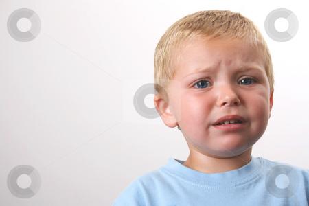 Beautiful Blond Boy stock photo, Beuatiful Blond toddler with big blue eyes by Vanessa Van Rensburg
