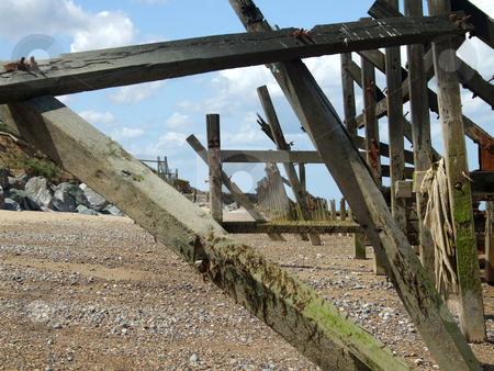 Coastal Erosion 3 stock photo, Coastal erosion on the east coast of England by Stuart Atton
