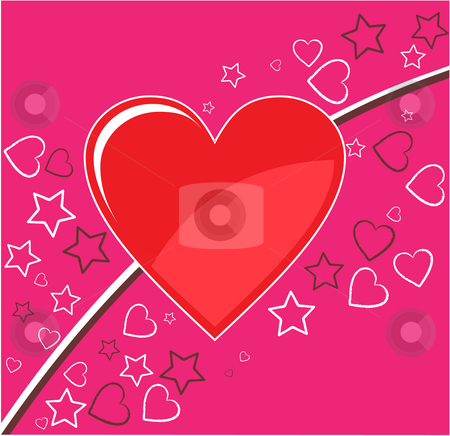 Valentine background stock vector clipart, Valentine background by Vadim Pats