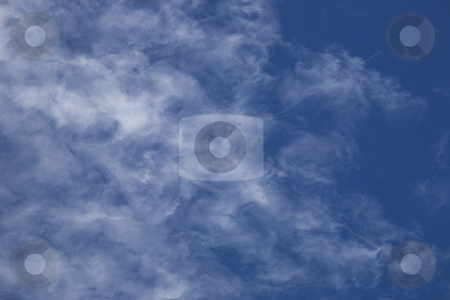 Thin Clouds stock photo, Clouds in Sky by David Chapman