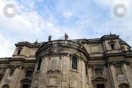 Santa Maria Maggiore stock photo, The back of Santa Maria Maggiore in Rome, Italy by Kevin Tietz