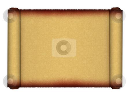 Papyrus. Scrolls. stock photo,  by Dmitriy Kalyuzhnyy