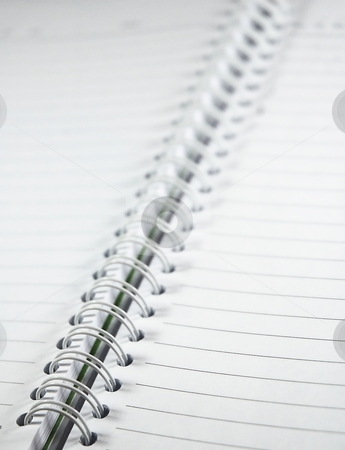 White empty diary. stock photo, White empty diary. May you want to write something? by Oleg Blazhyievskyi