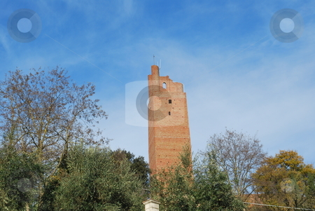 Torre di Federico II ,San Miniato stock photo, An hystorical military monument in the arno's valley, between Florence and Pisa by Maurizio Martini