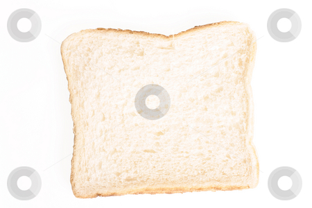 Slice of bread stock photo, Sliced unbuttered breat by Leah-Anne Thompson
