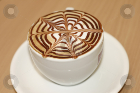 Coffee Break stock photo, Time for a delicious cappucino by Leah-Anne Thompson