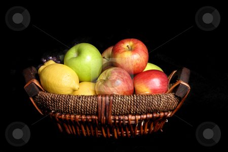 Fruits stock photo, Fresh picked fruits by Leah-Anne Thompson