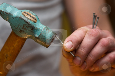 Hammer in a nail