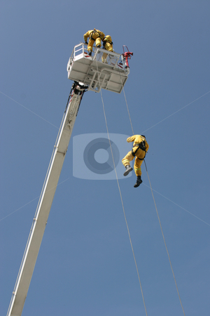 Firemen Show stock photo,  by Stanislovas Kairys