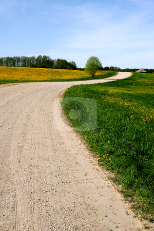 Country Road 1 stock photo,  by Stanislovas Kairys